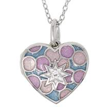 With You Lockets-Custom Photo Locket Necklace-That Holds Pictures for Girls-I Love You Past The Stars-The Amara