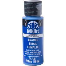 FolkArt Enamel Acrylic Paint in Assorted Colors (2 Ounce), 2841 True Blue