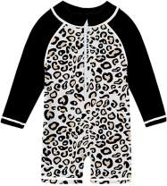 Funnycokid Baby Boys Girls Swimsuit Rash Guard One Piece Toddler Bathing Suit Swimwear Sunsuit UPF 50+ 6-36 Months