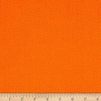 Timeless Treasures 0529276 Spin Dot Orange Fabric by The Yard