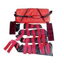 LINE2design EMT Paramedic Medical Fracture Splint Kit - Complete Emergency Fracture Care Immobilizer Child, Arm Leg and Shoulder Splints