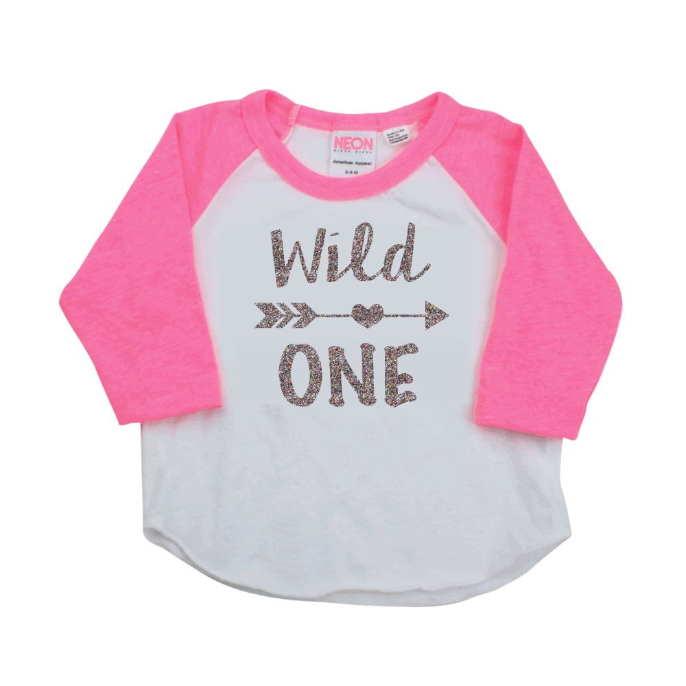 Girl First Birthday Outfit First Birthday Shirt Wild One Year Old Outfit