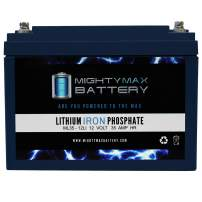 Mighty Max Battery 12V 35AH Lithium Replacement Battery for Levo 50amp Brand Product