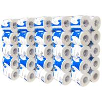 50 Rolls Toilet Paper, 5 Bags10 Rolls Professional Premium 3-Ply, Ultra Silky & Smooth Daily Use, Soft, Strong And Highly Absorbent Degradable Toilet Tissue Paper