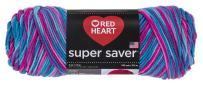 Red Heart  Super Saver Economy Yarn, Bonbon Print
