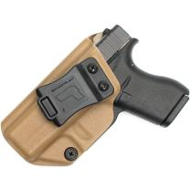 Tulster IWB Profile Holster in Left Hand fits: Glock 42