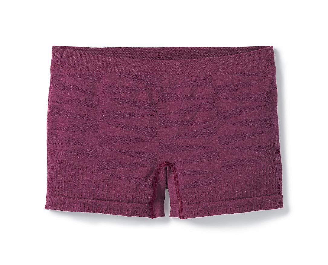 Smartwool Women's Seamless Boyshort Cut - Merino Wool Underwear