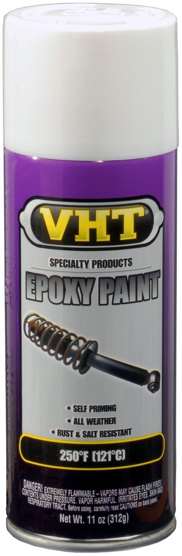 VHT (SP651-6 PK Gloss White Epoxy All Weather Paint - 11 oz. Aerosol, (Case of 6)
