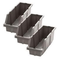 Seville Classics WEBK403 Bins for Commercial Bin Rack System, 3-Pack