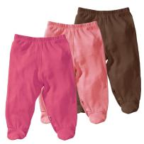 Babysoy Eco Essential 3-Piece Footie Pants Set