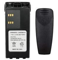 Teseko HNN4003 2500mAh 7.4V Li-ion Replacement Two-Way Radio Battery for Motorola NHNN4003BR HT1250 MTX8250 Talkabout Radios