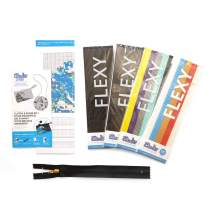 3Doodler Create 4 Pack Plastic Bundle with Clutch and Purse Stencil, (3D Pen Not Included)