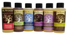 Dr. Woods Travel Trial Size Bottles Castile Body Wash Soap with Organic Shea Butter Variety Pack