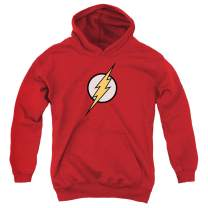 Youth Flash Lightning Bolt Logo T Shirt Kids Youth Pullover Hoodie & Stickers