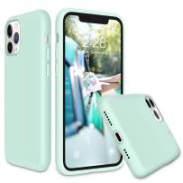 Soke iPhone 11 Pro Max Case 2019, Shockproof Soft Silicone Case Cover with Premium Microfiber Lining [Full-Body Protection + Precise Cutouts] for iPhone 11 6.5 Inch,Mint Green
