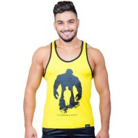 Taddlee Men Tank Top Tees Shirt Sleeveless Cotton Muscle Gym Stringer Fitness