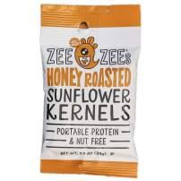 Zee Zees Honey Roasted Sunflower Kernels, Nut Free, 1 oz, 48 pack