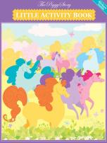 The Piggy Story 'Dancing Ponies' Little Activity Booklet for Kids on The Go 4-Pack