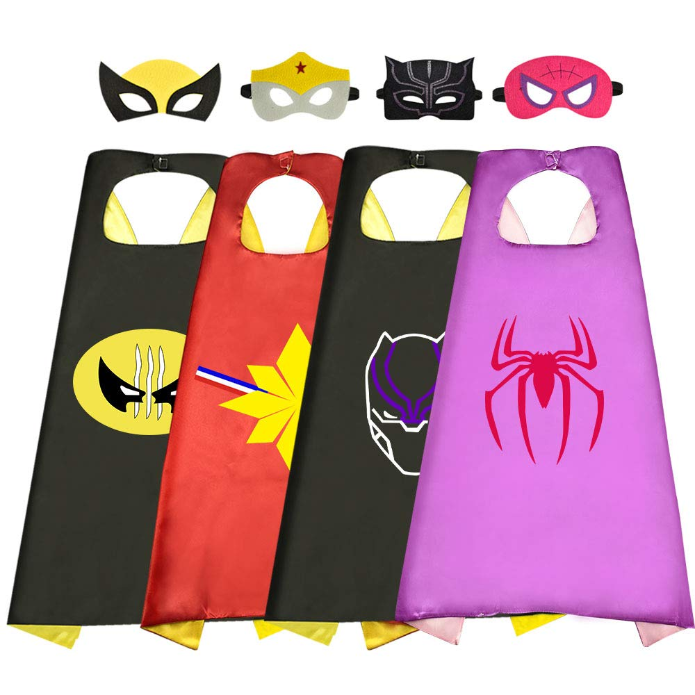 superwinky Fun Cool Superhero Capes for Kids - Best Gifts