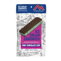 Mountain House Mint Chocolate Chip Ice Cream Sandwich | Freeze Dried Backpacking & Camping Food