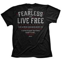 Kerusso Men's Fearless Romans 8:31 T-Shirt - Black -
