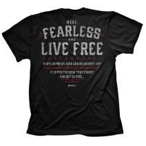 Kerusso Men's Fearless Romans 8:31 T-Shirt - Black -