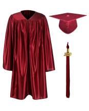 GraduationMall Shiny Kindergarten & Preschool Graduation Gown Cap Set with 2020 Tassel