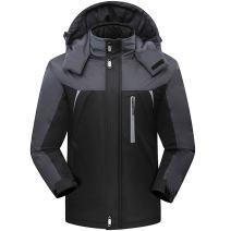 Oubaybay Women's Mountain Waterproof Ski Jacket Windproof Rain Jacket