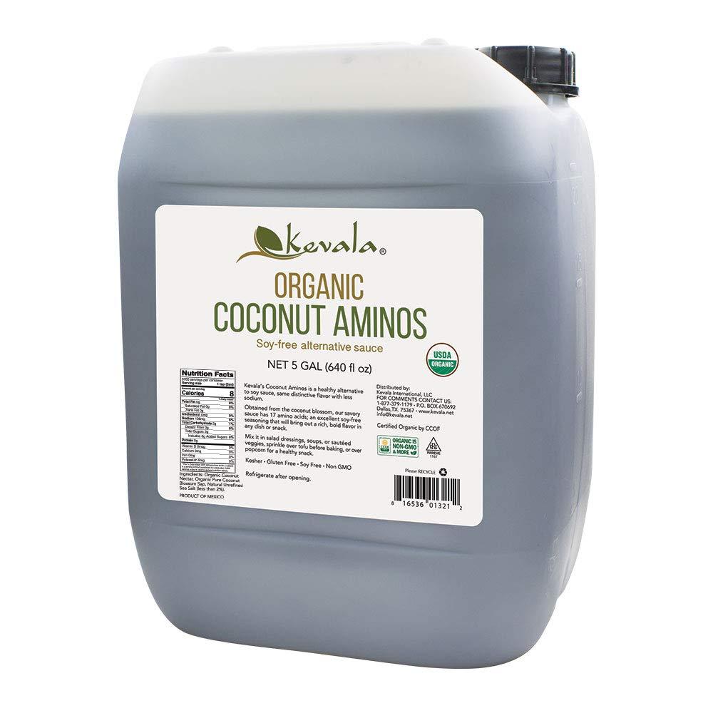Kevala Organic Coconut Aminos, 640 Fluid Ounce