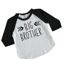 Big Brother Shirt Toddler Boy Clothes Big Brother Gift (4T)