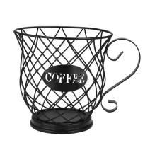 AOZBZ Coffee Pod Holder, Coffee Pod Organizer, Coffee Pod Storage Cup, K Cup Coffee Storage Basket for Home Cafe Hotel (L Size)