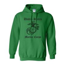 United States Marine Corps Adult Hooded Sweatshirt