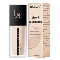 Liquid Foundation,Foundation Makeup,Color Changing Foundation,Flawless Finish Foundation,Cream Concealer, Moisturizing Liquid Cover Concealer for All Skin Types, 30ML