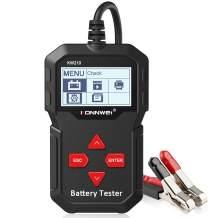 KONNWEI KW210 Car Battery Load Tester 12V 100-2000 CCA 220AH Professional Automotive Alternator Digital Analyzer Waveform Voltage Test Tool for Vehicle/Boat/Motorcycle
