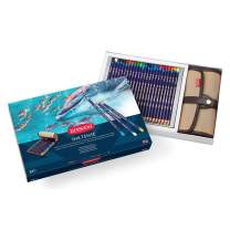 Derwent Colored Pencils, Inktense Ink Pencils, Drawing, Art, Gift Set Pencil Wrap, 24 Count (2302163)