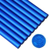 Royal Blue Sealing Wax Glue Gun Sticks for Vintage Wax Seal Stamp