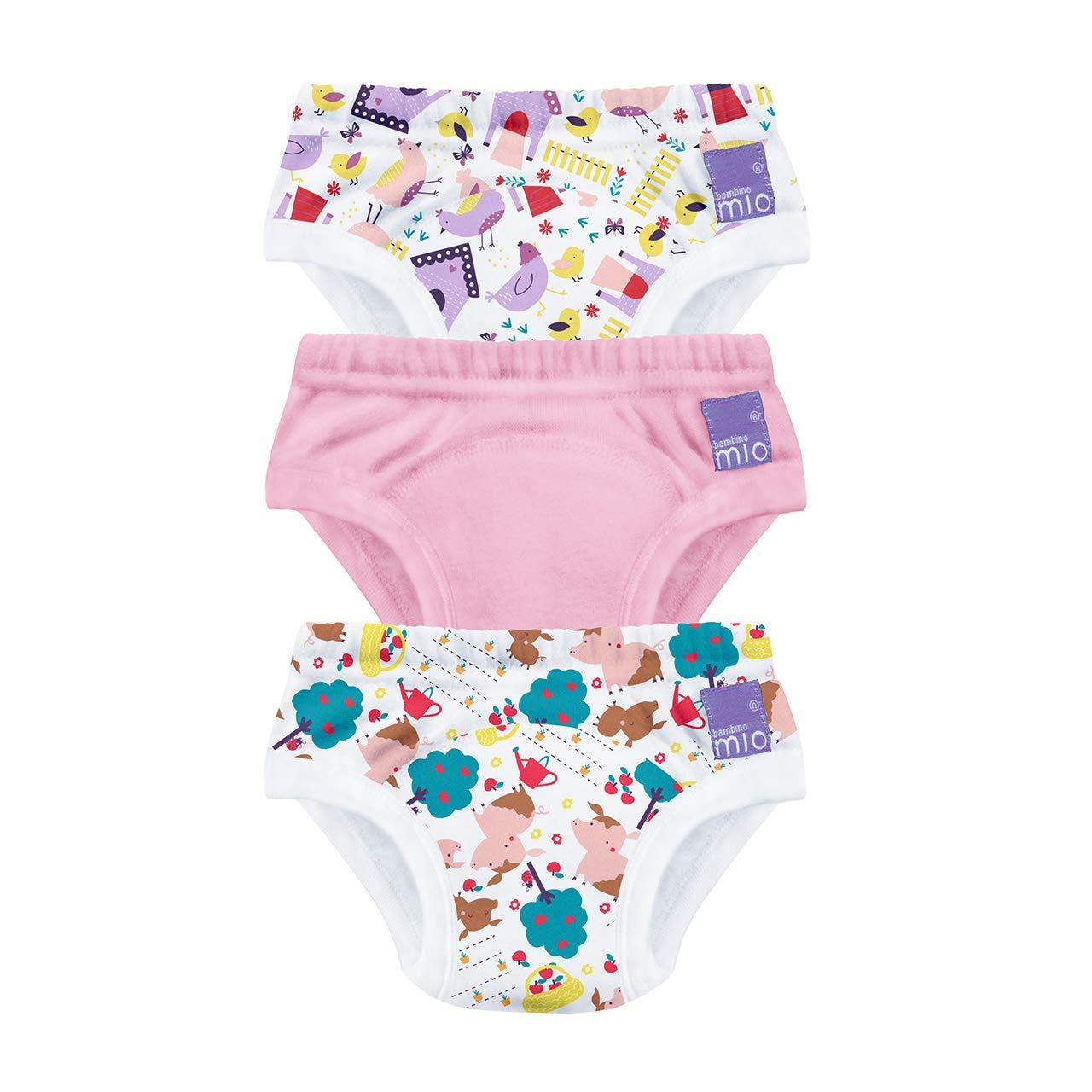 Bambino Mio Bambino Mio, Potty Training Pants, Puddle Pigs, 3+ Years, 3 Pack