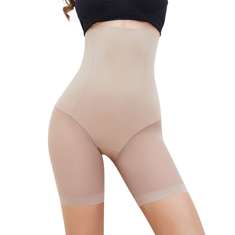 MISS MOLY Slip Shorts for Women Under Dresses Skirts Anti Chafing High Waist Seamless Smooth Soft Panties Boyshorts