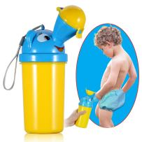 ONEDONE Portable Baby Child Potty Urinal Emergency Toilet for Camping Car Travel and Kid Potty Pee Training (boy)