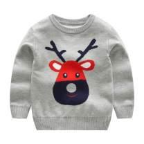 Mud Kingdom Boys Christmas Sweaters Xmas Reindeer Clothes