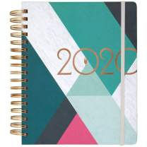 """inkWELL Press 2020 Weekly & Monthly Planner, liveWELL, 7"""" x 9"""", Medium, Classic (IP640F-805)"""