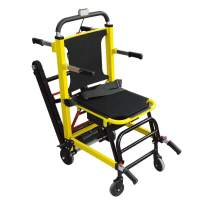 Mobile Evacuation Stair Chair, Electric Wheelchair Stair Chair, Transport Folding Stair Chair Lift, Stair Assist Chair, Load Capacity: 400 lb (Shipping from USA)
