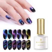BORN PRETTY Gradient 3D Magnetic UV Gel Polish Glitter Cat Eye Nail Art Gel Varnish Design 6ml