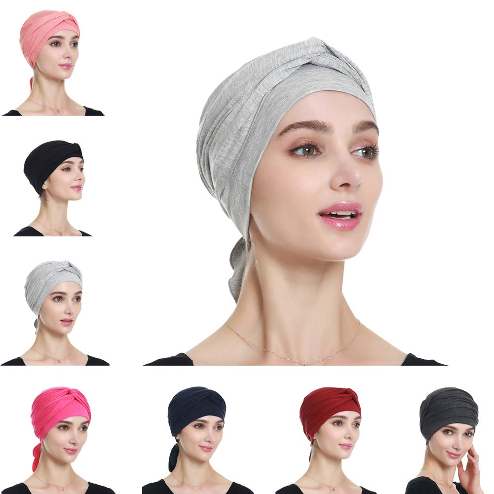 Bamboo Turban Headwrap for Women – Breathable, Comfortable, Stylish Chemo Headwear Gifts