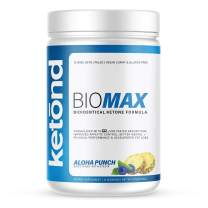 Ketond BioMax — Bioidentical Ketone Supplement — High-Performance Supplement with goBHB-D — Aloha Punch (15 Servings)