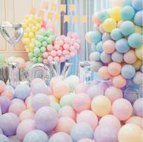 Do4Pets Birthday Party Decoration Latex balloons for Birthday decorations Baby Shower Party Supplies Wedding Halloween Christmas Party Decoration (Balloons 50pcs)