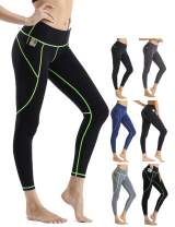 Rocorose Leggings for Women High Waist Workout Pants Tummy Control Yoga Gym Running Non See-Through