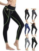 Rocorose Leggings for Women High Waist Workout Pants Tummy Control Yoga Gym Running Non See-Through
