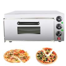 Stainless Steel Toaster Oven Electric Pizza Snack Oven 5000W Commercial Bread Cake Oven Maker(Shipped from US)