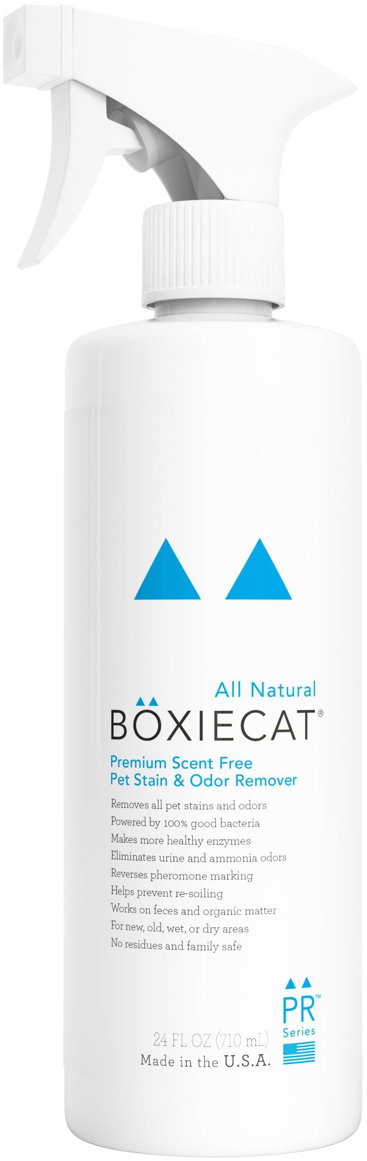 Boxiecat Premium Scent Free Stain & Odor Remover